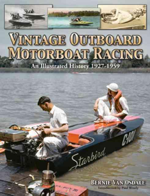 Vintage Outboard Motorboat Racing By Vanosdale, Bernie
